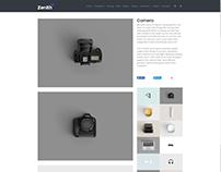 Gallery Post Page - Zenith WordPress Theme