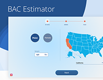 Online BAC Estimator UX Case Study