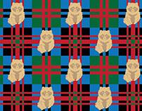Tanuki pattern design
