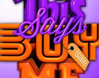 Buy me typography