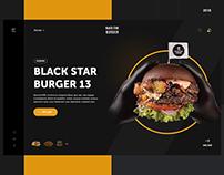 BLACK STAR BURGER — Redesign