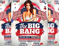 The Big Bang Party - Seasonal A5 Template