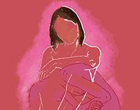 Ilustracja z dziewczynami