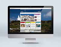 Municipal of Kea Island web portal