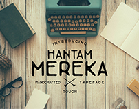 Hantam Mereka - Handcrafted Typeface