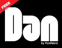 DAN Free Font