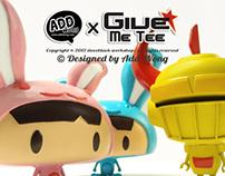 "Designer Toys ""GiveMeTee"""