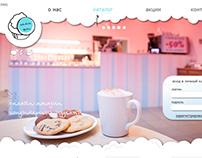 Сайт интернет-магазина кондитерских изделий