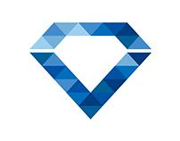 Diamond Hill at Westheimer Logo Design