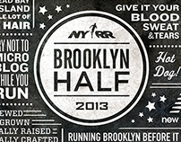 Brooklyn Half Marathon: Race Branding, Event Signage