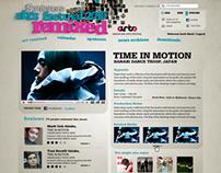 Singapore Art Fest Official Website Pitch 2010
