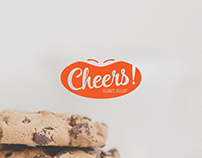 Cheers Vegan Logo Design