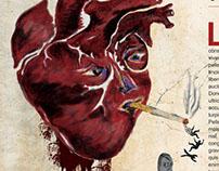 Smoking Kills (Editorial Design & Illustration)