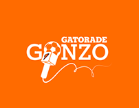 Gatorade Gonzo Campaign + Identity + Tumblr Website
