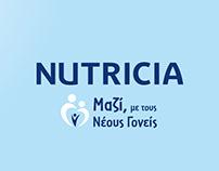 Nutricia - Μαζί με τους Νέους Γονείς - Digital Strategy