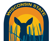 Wisconsin State Parks and Forests 2013 Sticker Concept