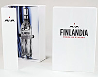 Finlandia Vodka Promotional Packaging