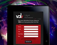 Volv Marketing // Tablet Prizing Form