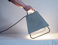 Light Concrete 01 // béton et fer à béton //