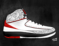IPAD ART: AIR JORDAN 2