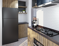 Small Kitchen | Industrial Style