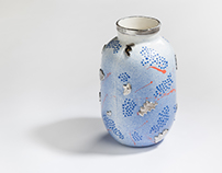 FIN-95 vase