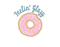 Feelin' Glazy - Logo and Branding