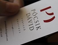 Renaissance business card - style practice