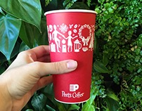 Peet's Coffee and Tea 2015 Holiday Campaign