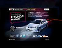 PROMO SITE FOR AGAT / HYUNDAI