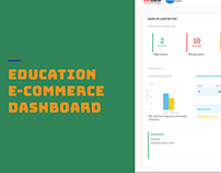 Educational E-commerce Dashboard