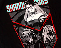 Playera Print Shadow Riders Camula Yugioh Gx