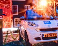 Electric mobility in Amsterdam © dbardok