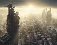 Matte paintings for musik-video