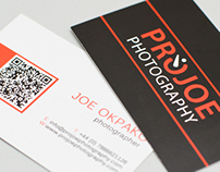 Projoe Business Card