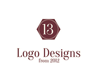 13 Logo Designs from 2012