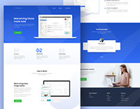 Apps Landing Page