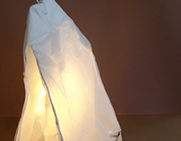 Tea Bag Light Sculpture