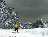 Aiolia in Asgard