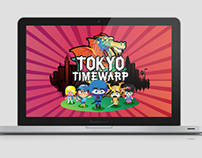 Tokyo Time Warp Toshiba Facebook Game