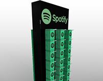 Spotify FSDU - 3D render