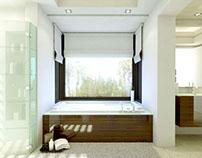Guadalmina Bathroom - 3d interior -