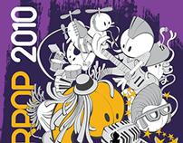 T-shirt illustration (vector) music festival Westerpop