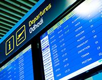 Ljubljana Airport - Signage