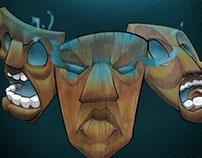 Burdega! Masks