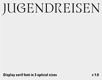 Jugendreisen Typeface