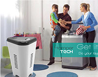 Hamper Tech: Laundry Hamper