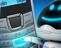 Bradesco Celular via SMS