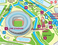 Queen Elizabeth Olympic Park visitor map