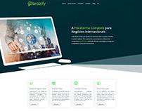 Layout Site Brazify - 2020